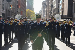 U.S. Coast Guard honored in New York City Veterans Day Parade