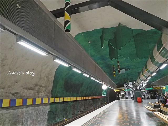 斯德哥爾摩藝術地鐵037