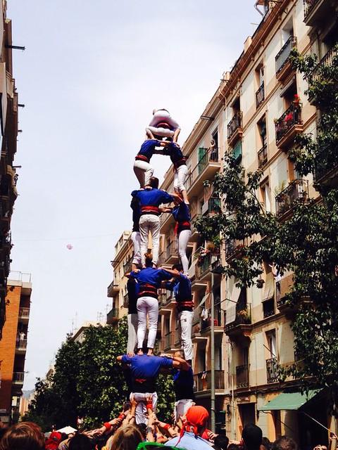 4d7 Castellers Esplugues al Poble-sec