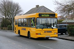 Dennis Dart SLF/Transbus Pointer new to Davidson Buses, Bathgate in 2004. It now operates for Sam Douglas Travel on their West Lothian services....