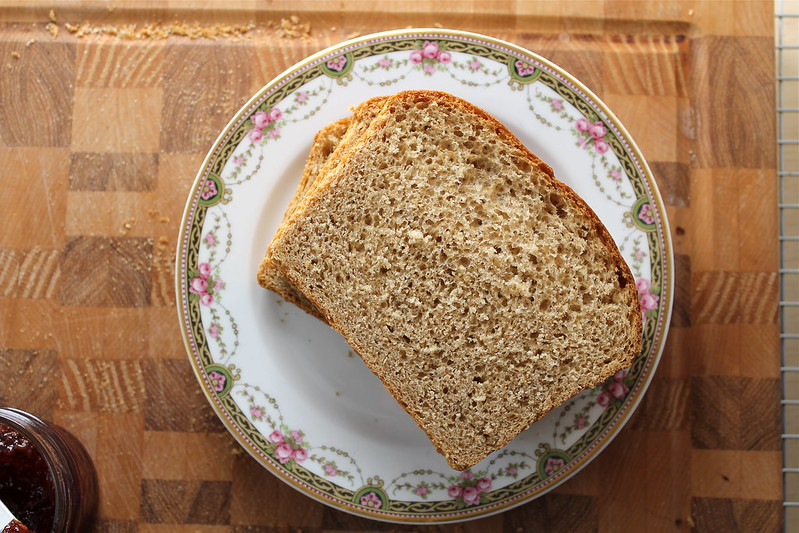 Whole Wheat Maple Oatmeal Bread - vegan http://www.katesshortandsweets.com
