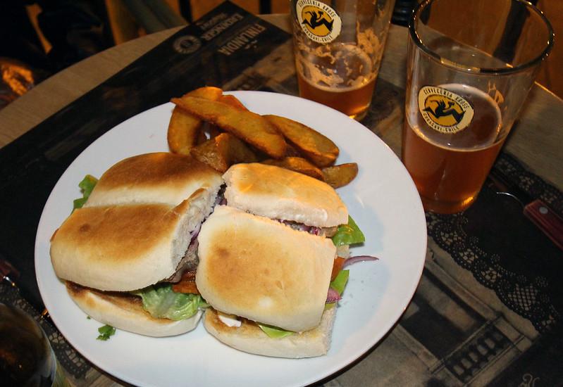 sandwich dinner