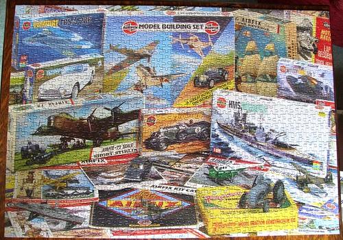 Airfix Through The Years Jigsaw