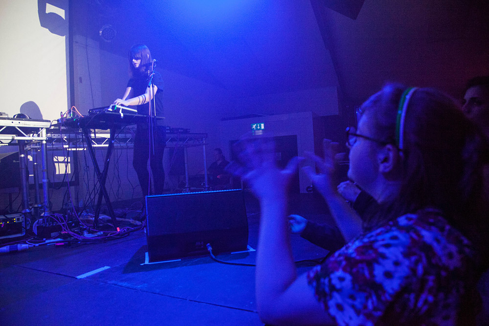 Factory Floor @ Oval Space, London 15/05/14