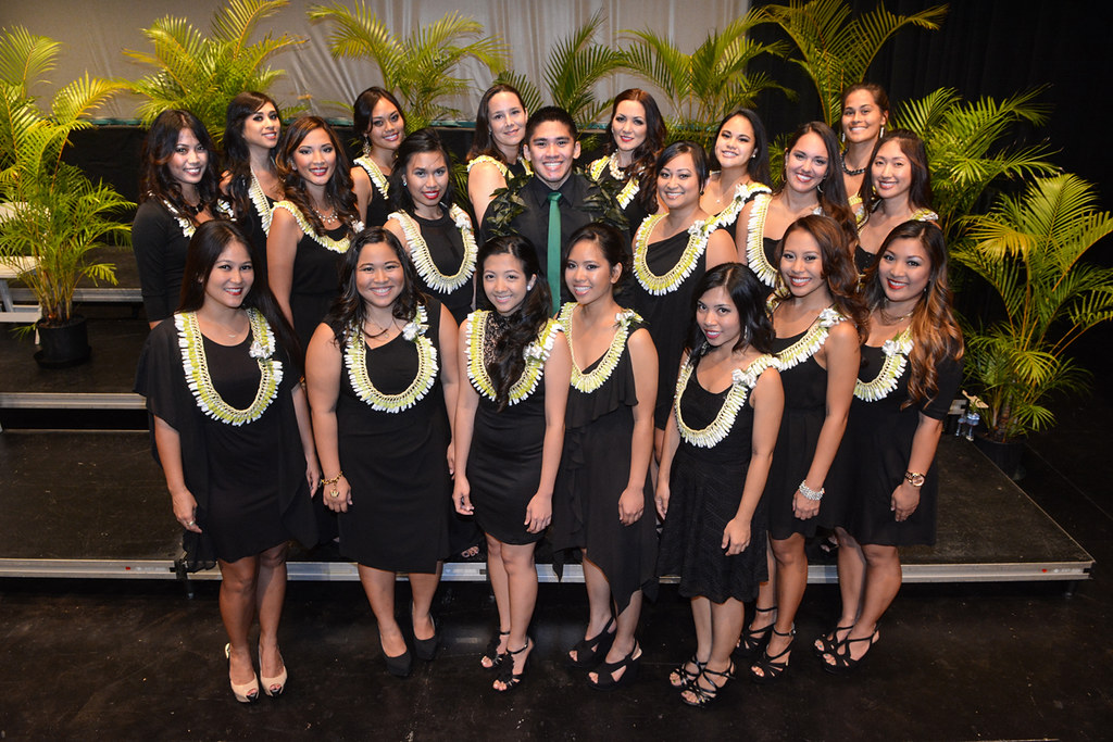 <p>University of Hawaii at Manoa dental hygiene class of 2014 graduates at the school's recognition ceremony held on Thursday, May 15, 2014 at UH Manoa Kennedy Theatre.</p>