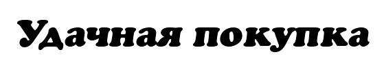 Шрифт - AGCrownStyle Oblique для Фотошоп