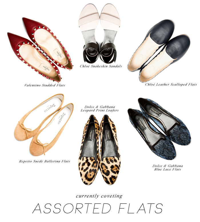 Currently Coveting - Assorted Flats