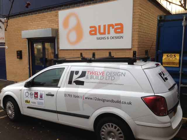 Vehicle Graphics // Aura Signs and Designs - offering Shop Signage ...