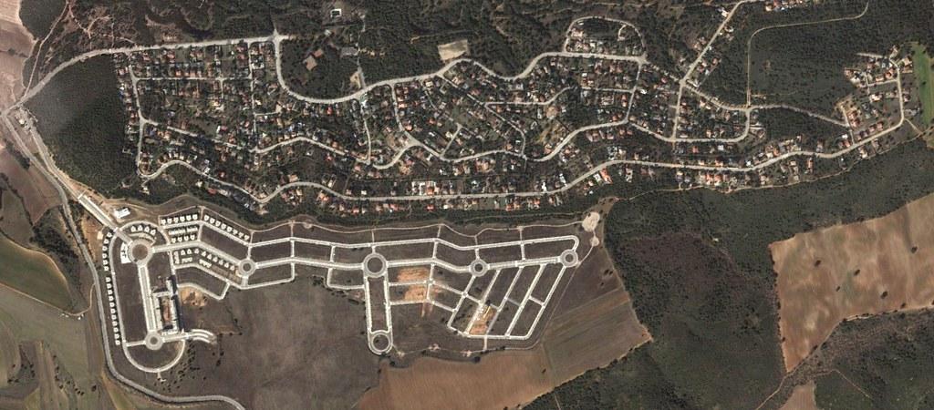 sotolargo, guadalajara, a long shot, después, urbanismo, planeamiento, urbano, desastre, urbanístico, construcción, rotondas, carretera