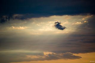 one little black cloud