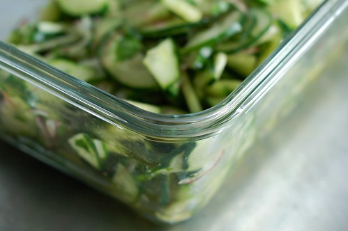 Quick Asian-inspired cucumber salad by Eve Fox, The Garden of Eating, copyright 2014