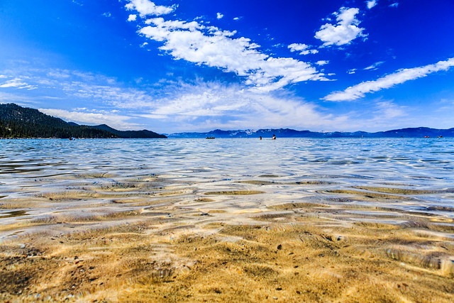 Clear Water at Sand Harbor, Lake Tahoe