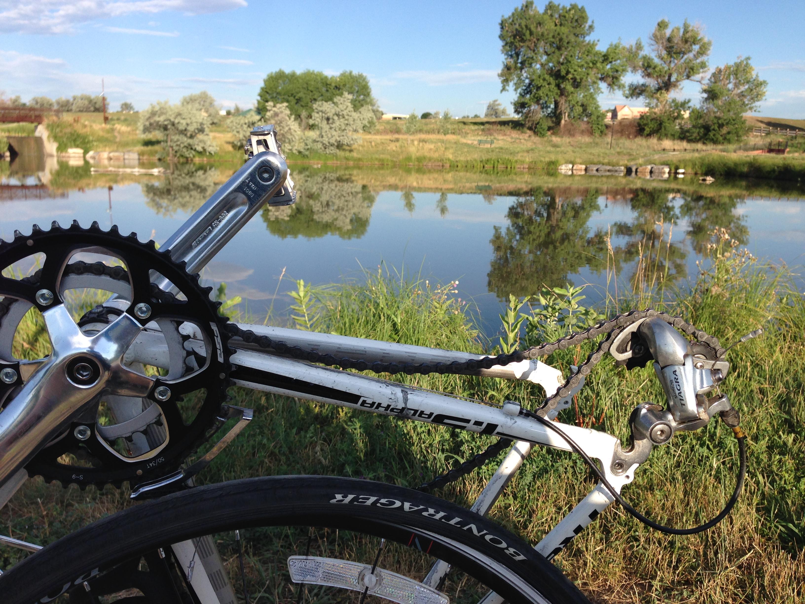 Bike Flat at the Park