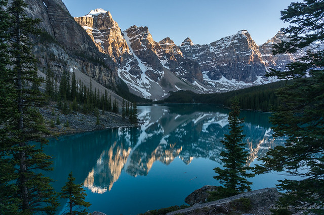Moraine Lake sunset