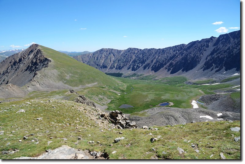 Kelso Mountain & Stephens Gulch from Grays Peak's slope