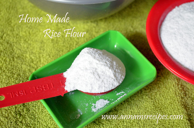 Home Made Rice Flour