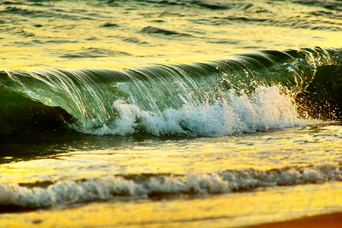 ocean california ca blue sunset summer sunlight color reflection beach water pier sand sony wave a65 sealbeachmunicipalpier