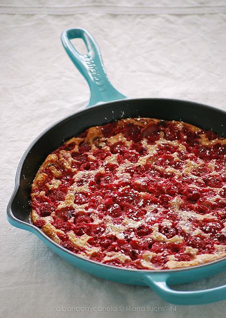 Pfannkuchen - Baked Pancake Cake