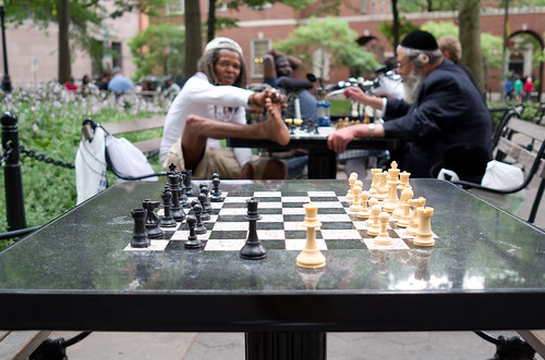 The Grandmasters of Washington Square