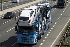 Volvo FM 6x2 Car Transporter - T400 ECM - ECM - M1 J10 Luton - Steven Gray - IMG_6515