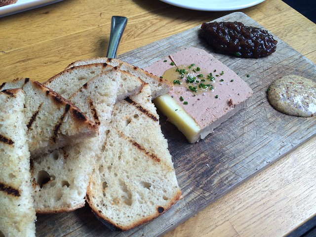 House made chicken liver pate - Starbelly