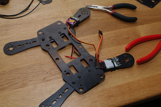 Two ESCs in place