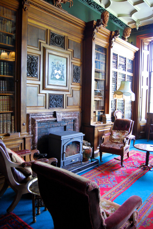 Balfour Castle Library