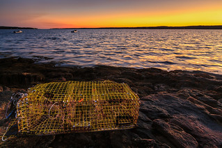 Lobster Pot Sunset