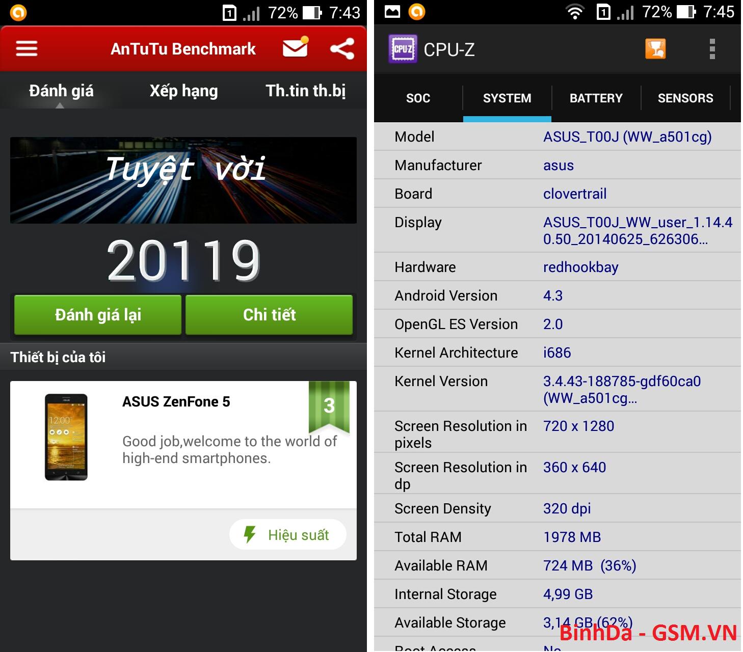 Tôi đã trải nghiệm được những gì trên Asus Zenfone 5 ? - 25878