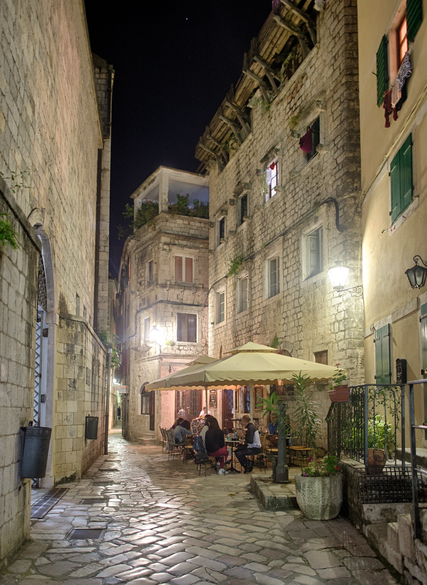 Nighttime in Stari Grad