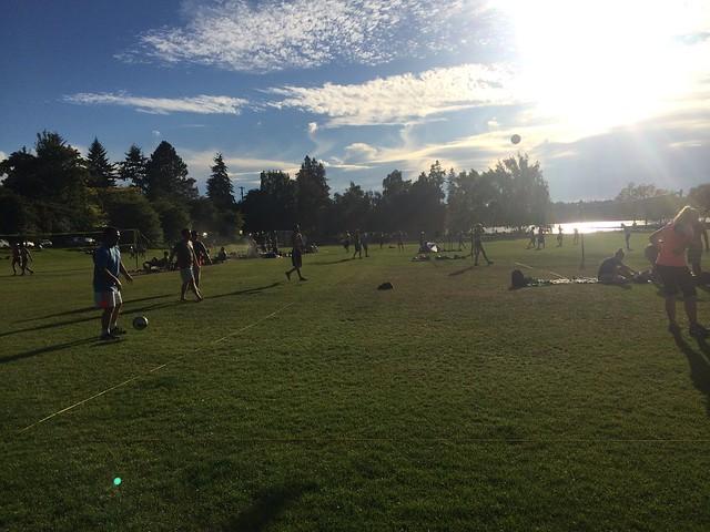 Volleyball at Green Lake Park