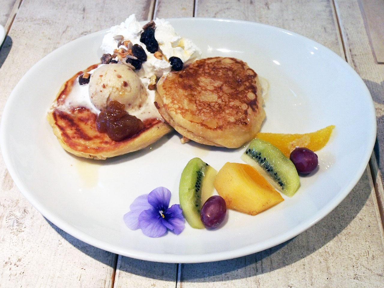 Ain Soph Journey Vegan Pancakes