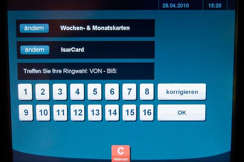 Ab 1. August möglich: Isarcards an den neuen MVG-Touchscreen-Automaten kaufen
