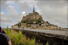 Entering Mont-St-Michel