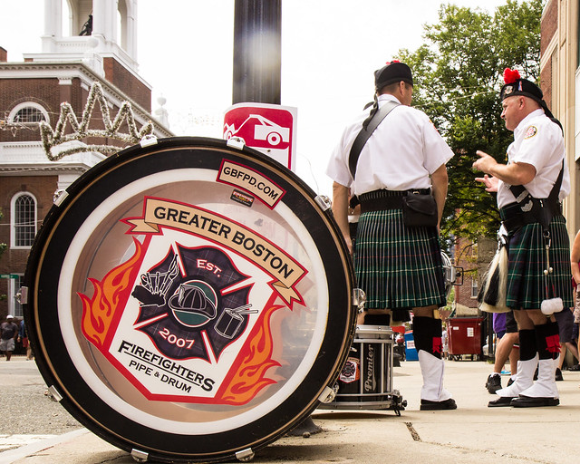North End Feast Day - Firefighters Pipe and Drum