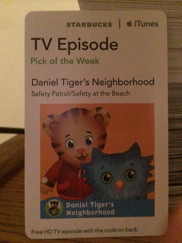 Starbucks iTunes Pick of the Week - Daniel Tiger's Neighborhood