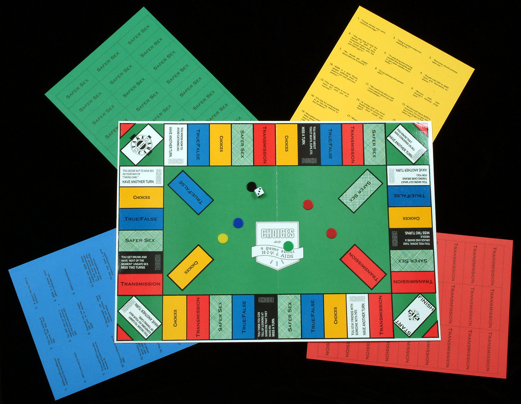 ... Sexual Health Board Game | by Lothian Health Services Archive