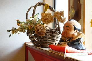 Fukusuke doll in  Dorogawa Onsen.