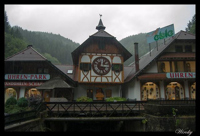 Selva Negra Schonachbach Schonach Triberg Hornberg - Schonachbach: reloj de cuco más grande de la Selva Negra