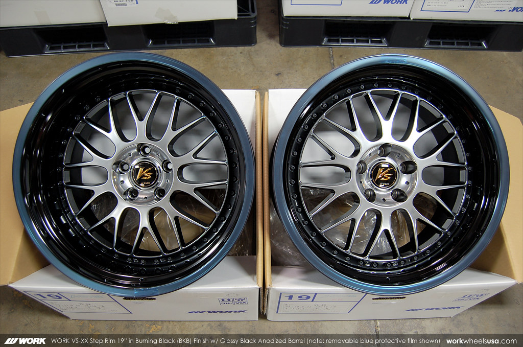 WORK Wheel Color BKB