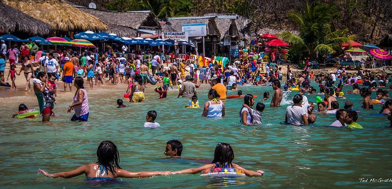 2014 - Mexico - Huatulco - Playa la Entegra