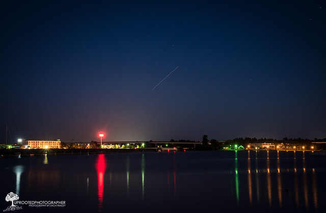 Iss Backyard Viewing : International Space Station Sighting  New Bern, NC  Flickr  Photo