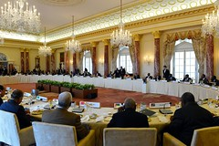 President Obama Hosts a Working Lunch at the U.S.-Africa Summit