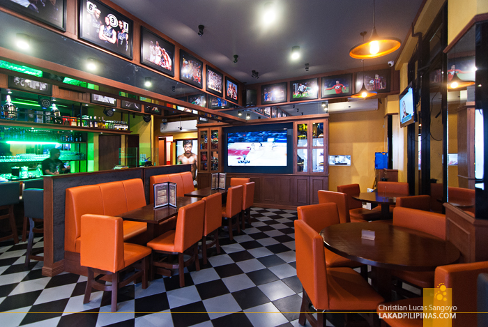 Posh Interiors of J.J. Sports Bar in Parañaque City