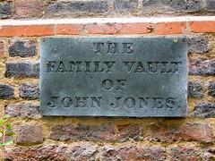 The Family Vault of John Jones