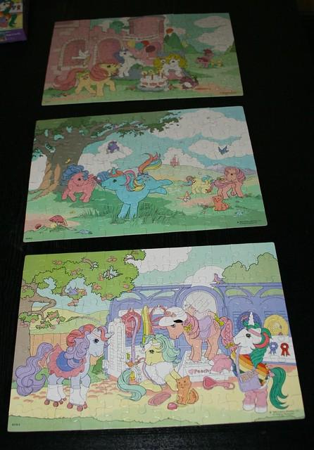My Little Pony Jigsaw puzzles (1985)