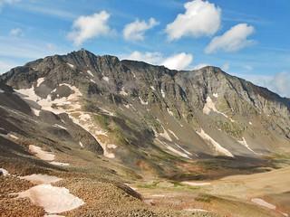 Mt. Wilson and El Diente from Wilson Peak
