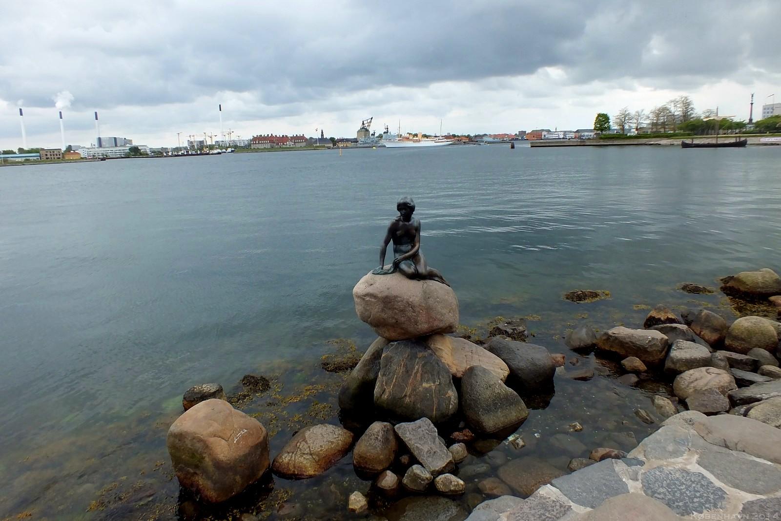 Den Lille Havfrue, København, Denmark