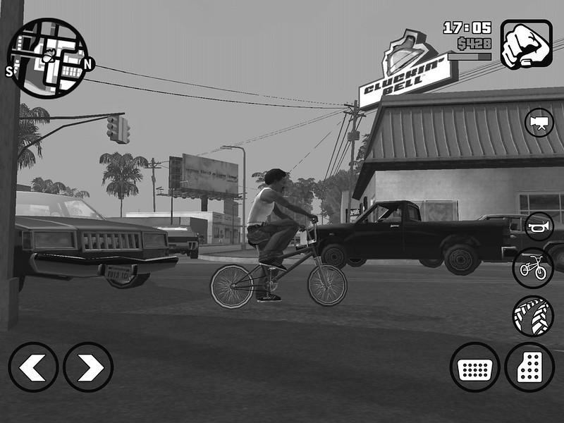 Grand Theft Auto: San Andreas(iOS)