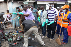 President joins clean up exercise in Accra areas